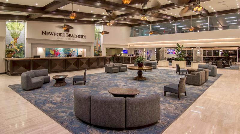 Lobby Newport Beachside Hotel & Resort