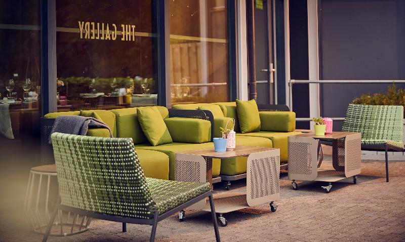Terrace Westcord Art Hotel Amsterdam 3 Stars