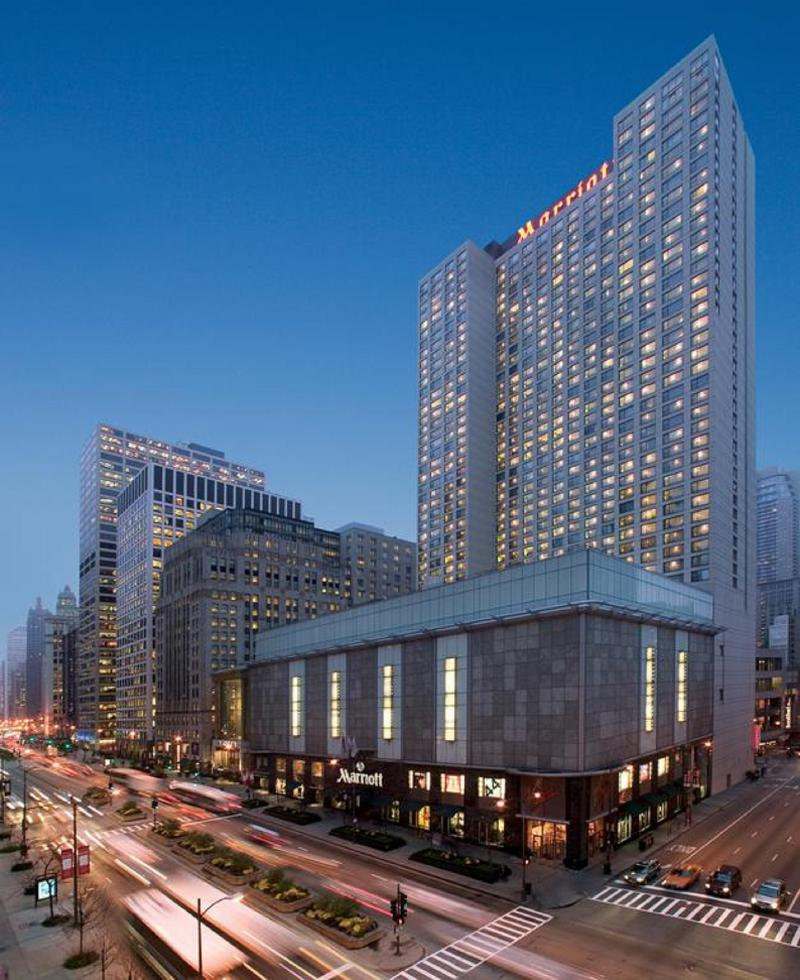 General view Chicago Marriott Downtown Magnificent Mile