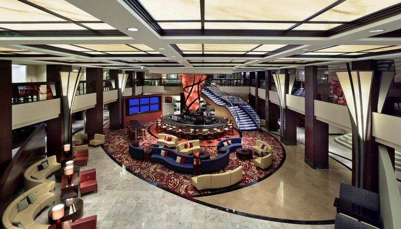 Lobby Chicago Marriott Downtown Magnificent Mile