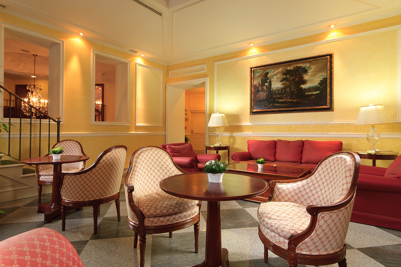 Lobby Hotel Kinsky Garden
