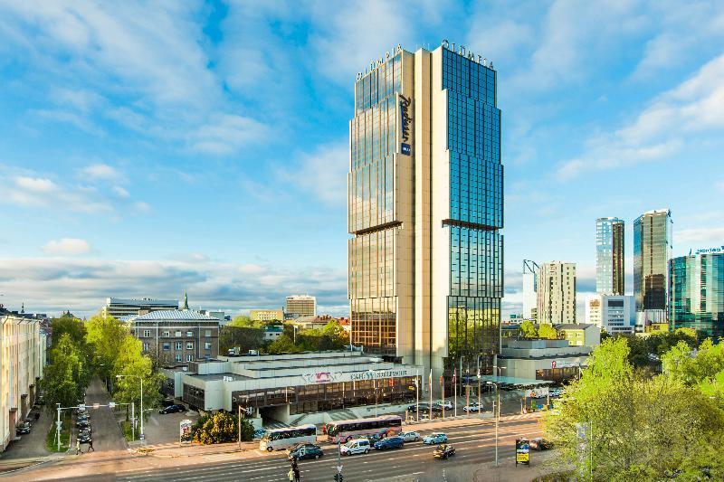 General view Radisson Blu Hotel Olümpia
