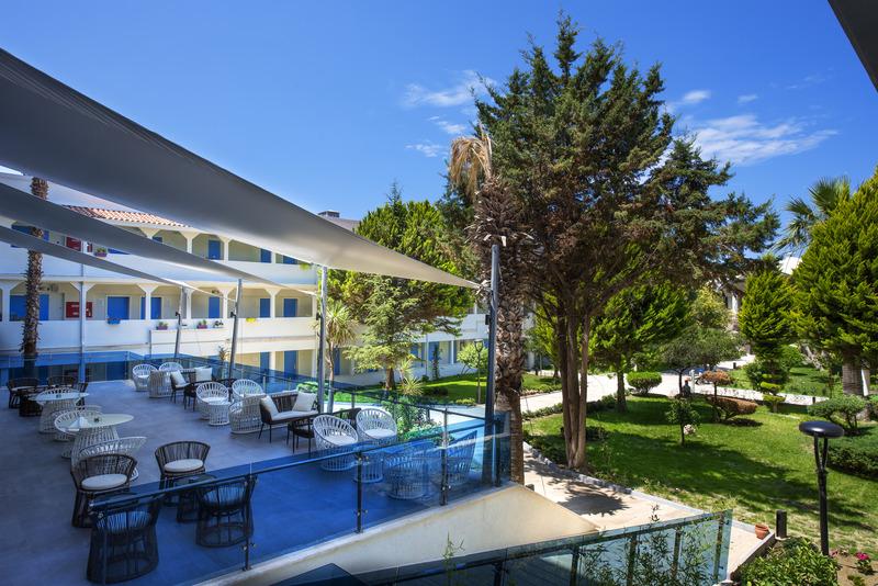 Terrace Flora Garden Ephesus Hotel
