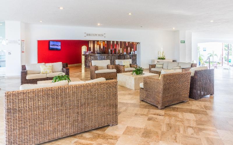 Lobby Ramada Resort Mazatlan