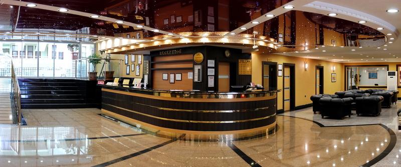 Lobby Sealine Hotel