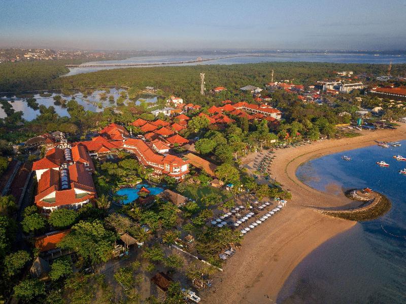 General view Sol Beach House Benoa Bali