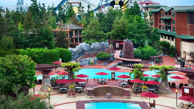 General view Disney\'s Grand Californian Hotel & Spa