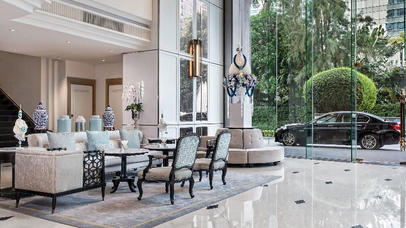 Lobby Plaza Athenee Bangkok, A Royal Meridien Hotel
