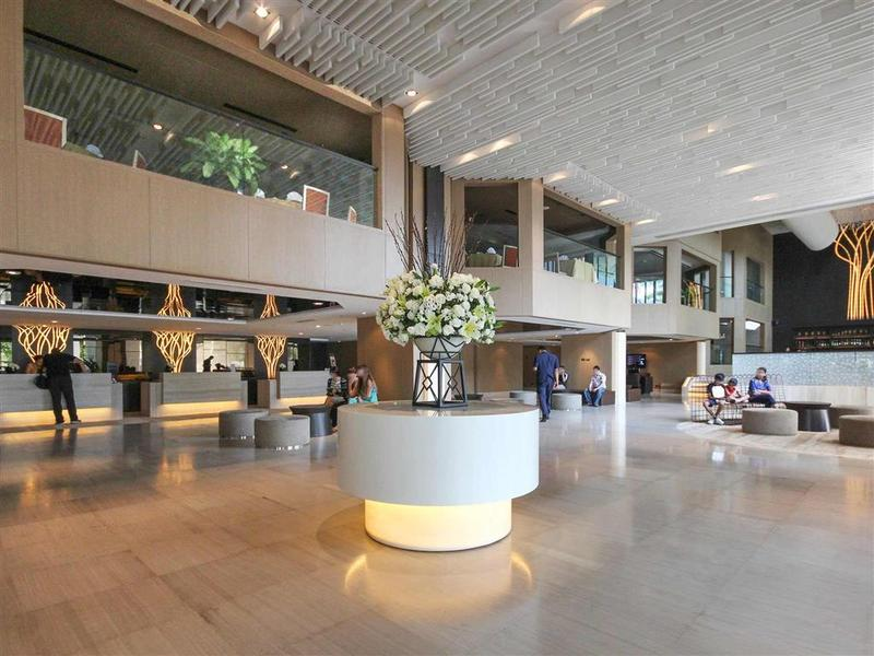 Lobby Grand Mercure Bangkok Fortune