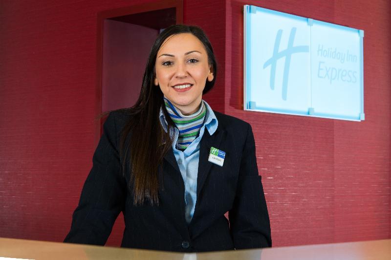 Lobby Holiday Inn Express Birmingham Oldbury M5/jct.2