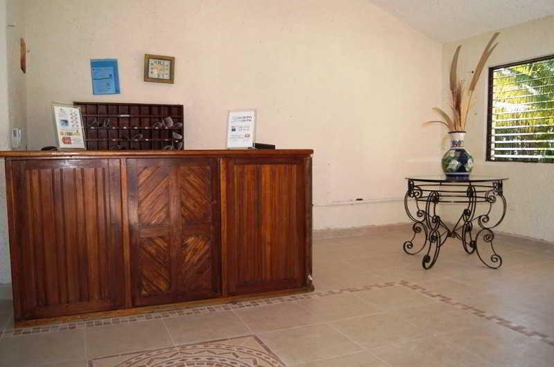 Lobby Carmen Villas Cozumel