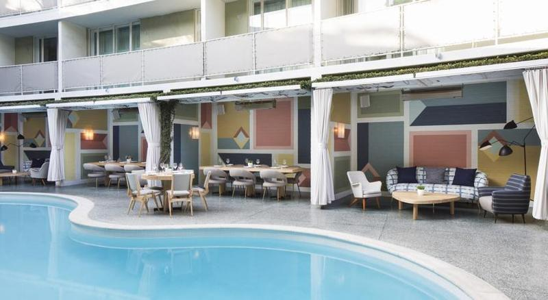 Pool Avalon Beverly Hills