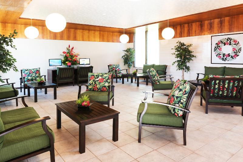 Lobby Maui Seaside Hotel
