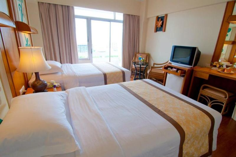 General view Golden Beach Pattaya