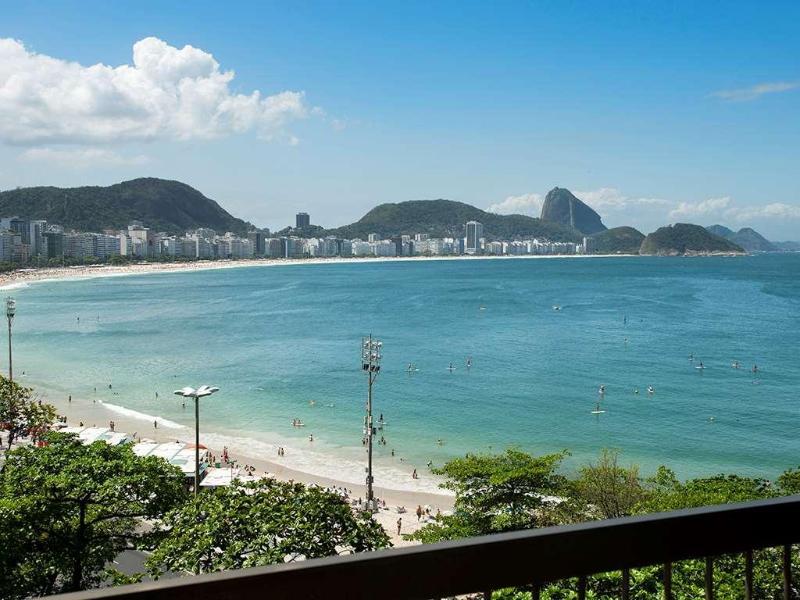 General view Sofitel Rio De Janeiro Copacabana