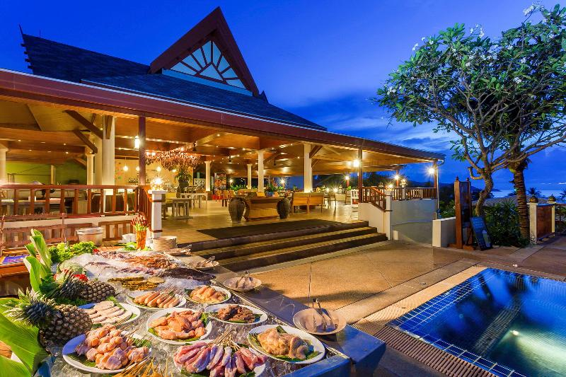 Restaurant Centara Blue Marine Resort And Spa Phuket