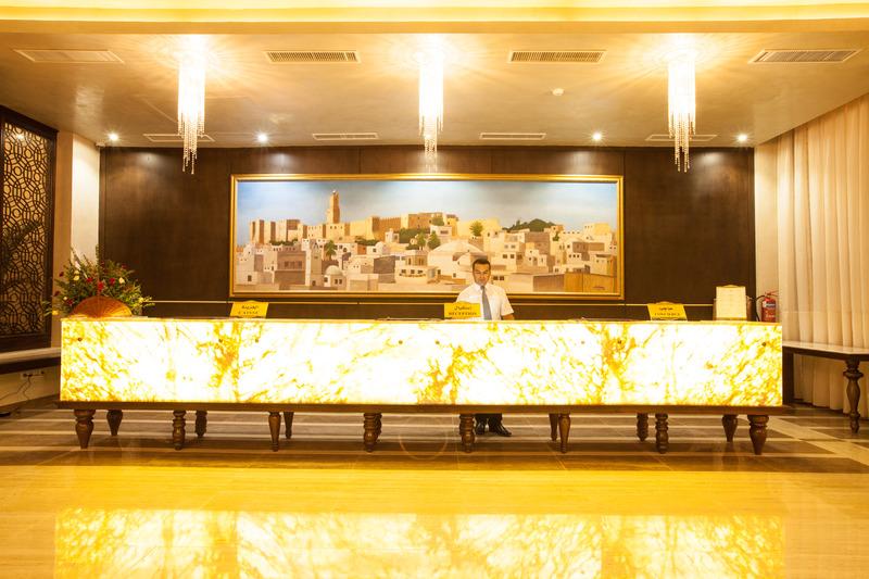 Lobby Sousse Palace