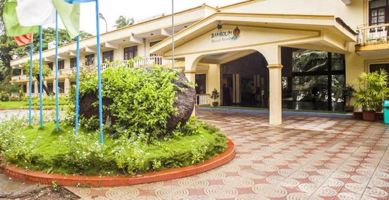 General view Bambolim Beach Resort