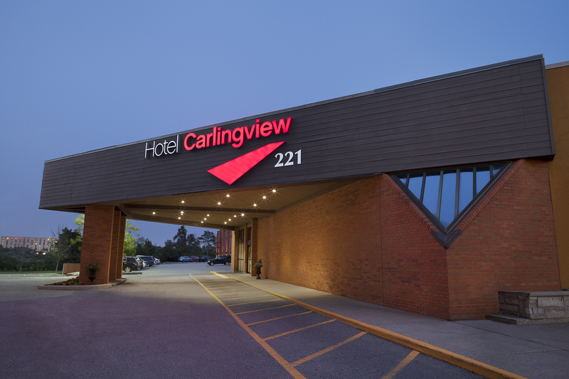 General view Hotel Carlingview Toronto Airport