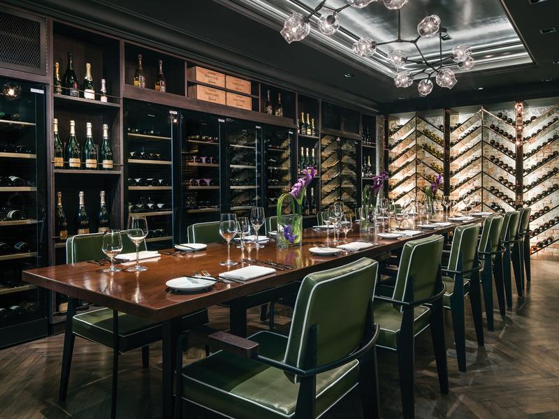 Restaurant The Langham Hong Kong