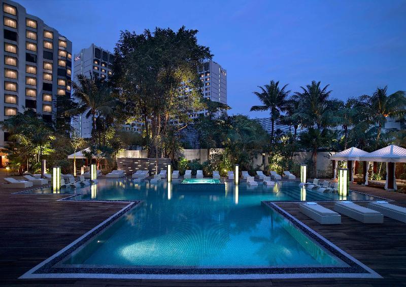 Pool Grand Hyatt Singapore