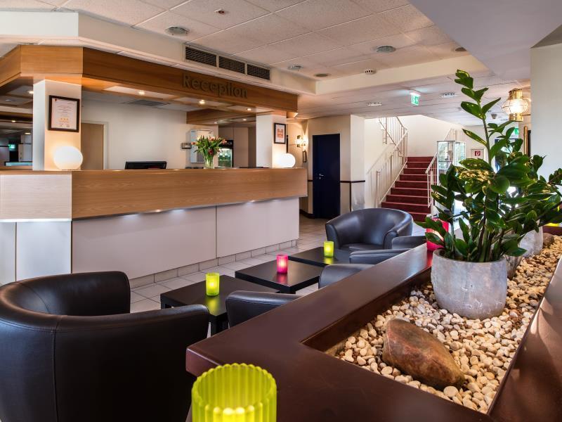 Lobby Best Western Hotel Cologne Airport Troisdorf