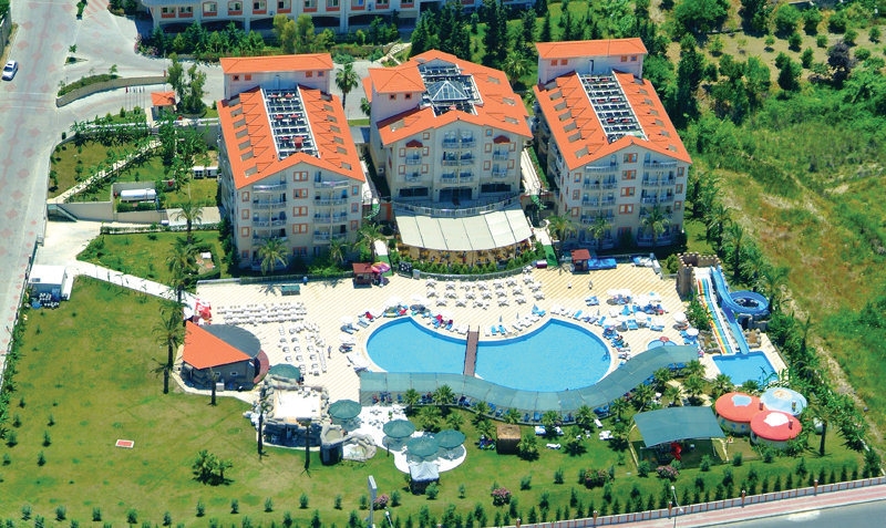 General view Side West Resort Hotel