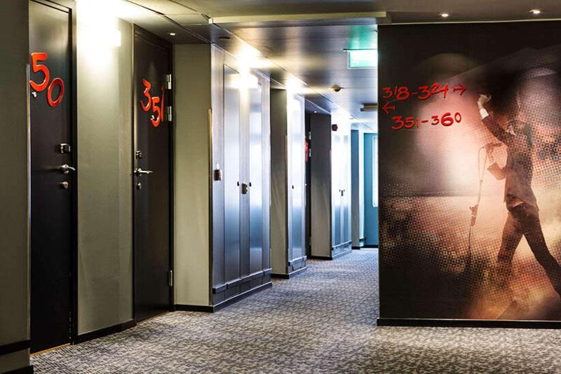 Lobby Comfort Hotel Stockholm