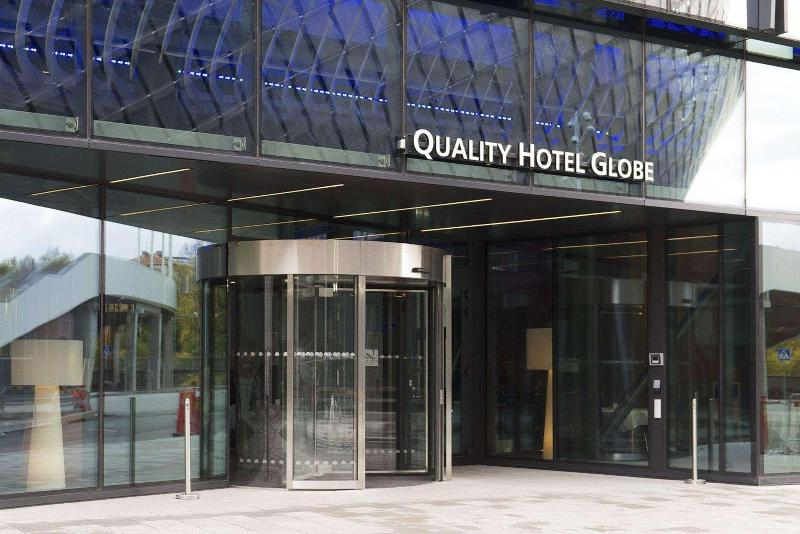 General view Quality Hotel Globe