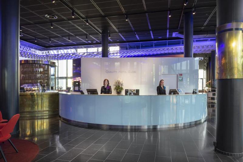 Lobby Quality Hotel Globe