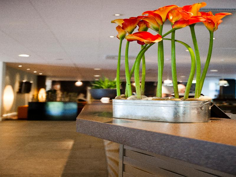 Lobby Quality Hotel Nacka
