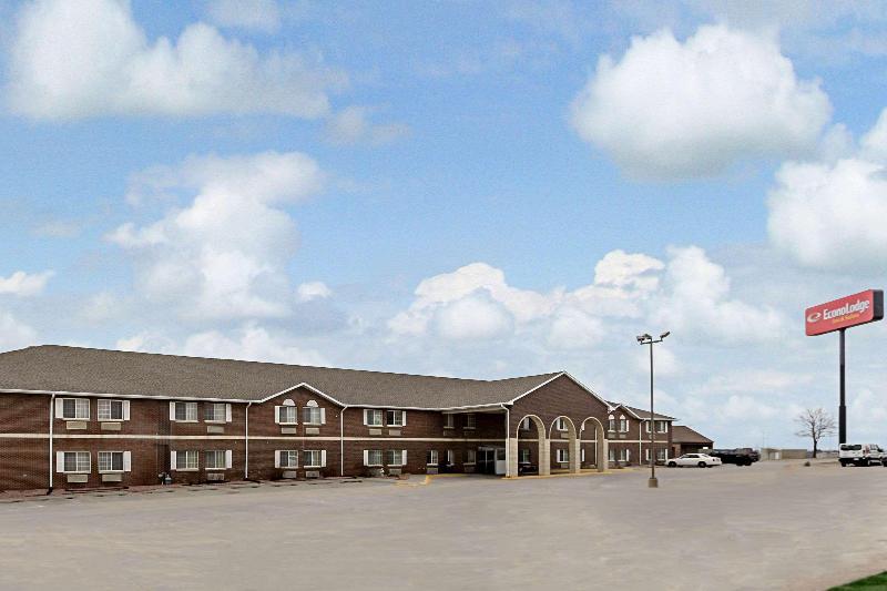 General view Econo Lodge Inn & Suites West