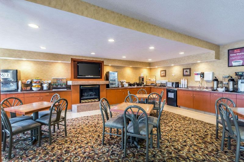 Restaurant Econo Lodge Inn & Suites West