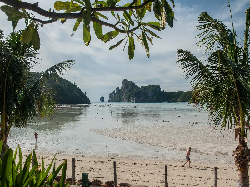 Beach Phi Phi Island Cabana