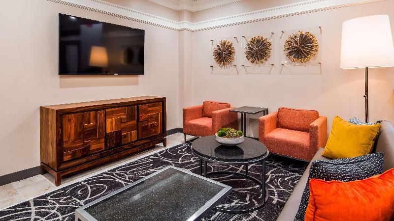 Lobby Best Western Tlc Hotel