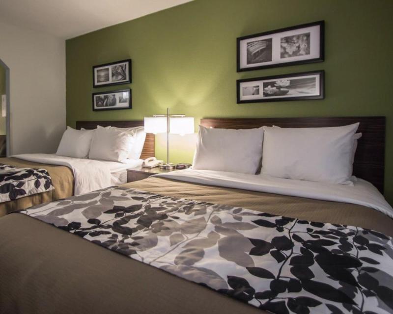 Room Sleep Inn & Suites Ft. Lauderdale Airport/cruise P