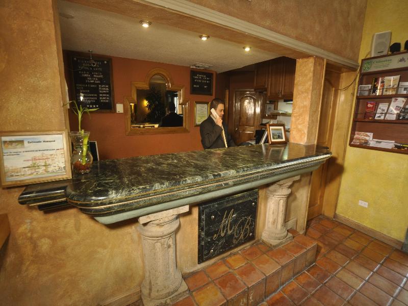 Lobby Business Hotel & Suites Maria Bonita