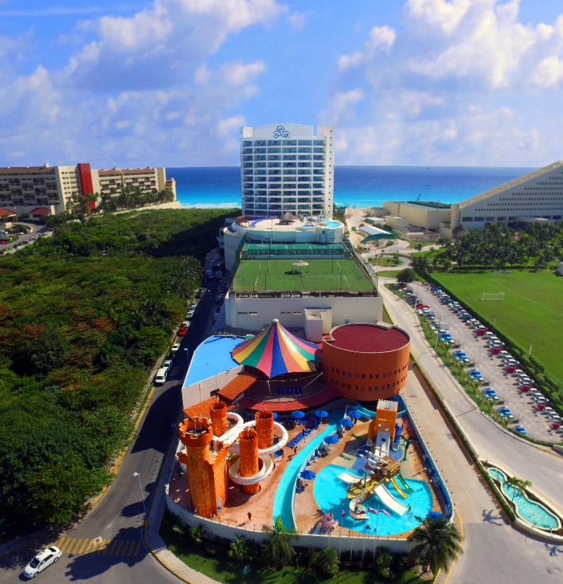General view Seadust Cancun Family Resort