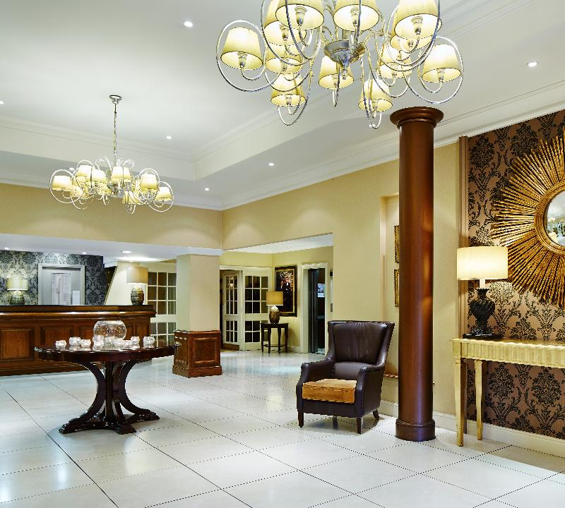 Lobby Marriott Hotel Preston