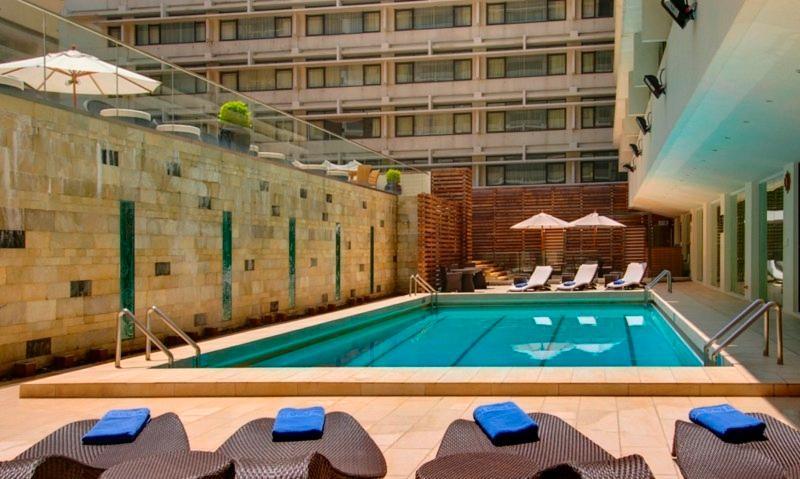 Pool Marco Polo Hongkong Hotel