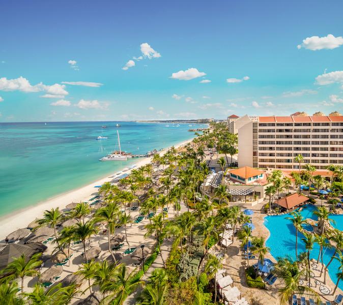 Отель Barcelo Aruba