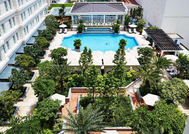 Park Hyatt Saigon - A sleek retreat just minutes from Saigon's historic place. The perfect modern and luxury hotel.