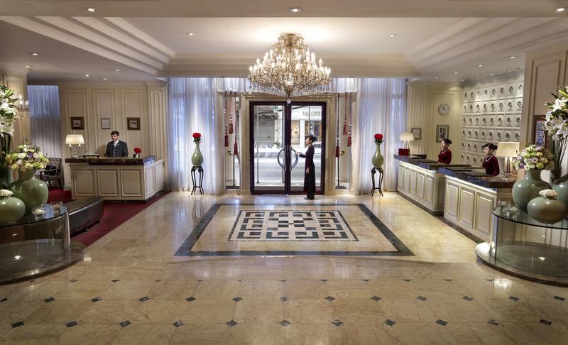 Lobby Sofitel Legend Metropole Hanoi