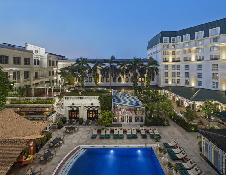 Pool Sofitel Legend Metropole Hanoi