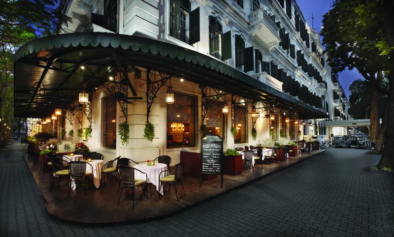 Terrace Sofitel Legend Metropole Hanoi