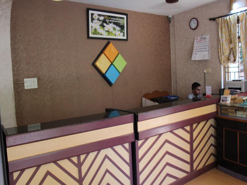 Lobby Beiramar Alfran Resort
