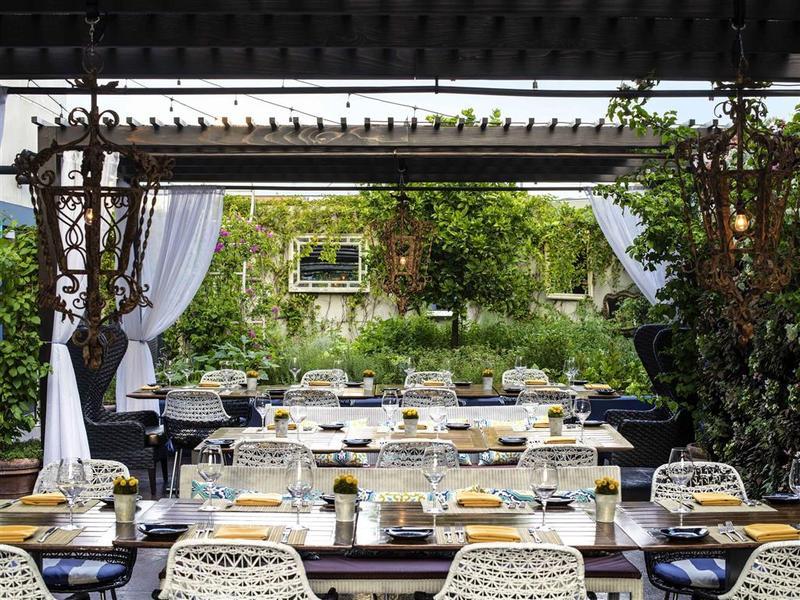 Restaurant Sofitel La At Beverly Hills