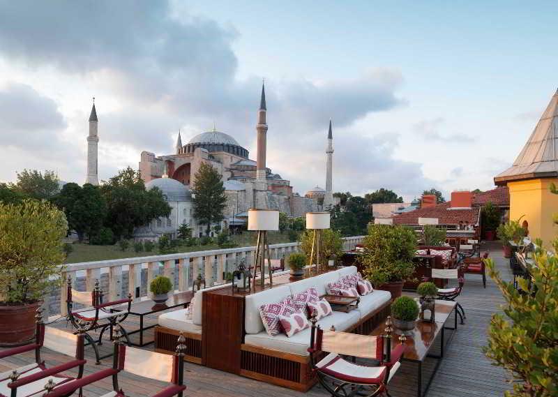 Four Seasons Hotel Istanbul at Sultanahmet - Terrace - 24