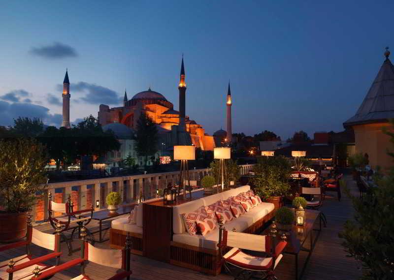 Four Seasons Hotel Istanbul at Sultanahmet - Terrace - 25