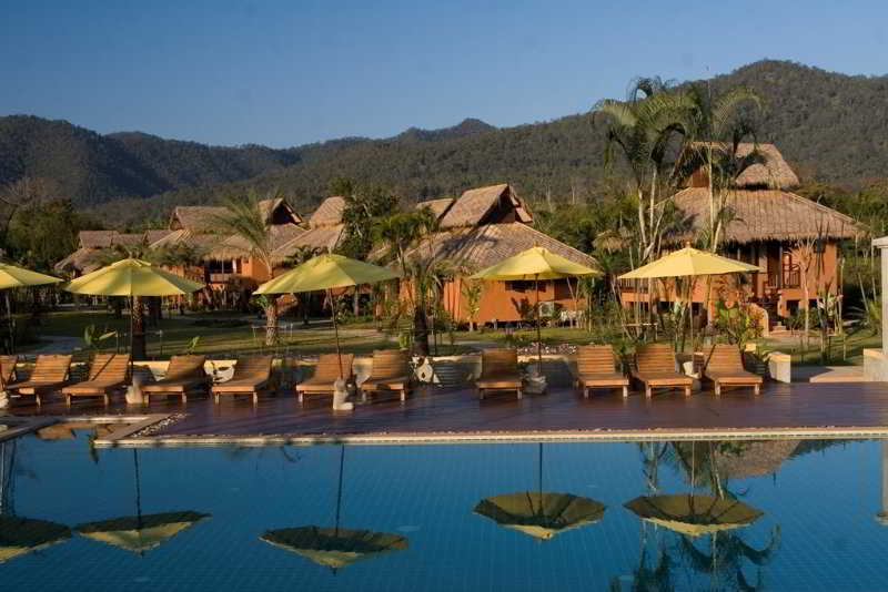 Pool Pai Hotspring Spa Resort